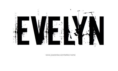 evelyn  tattoo designs
