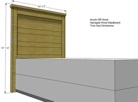 ana white build a reclaimed wood headboard full and