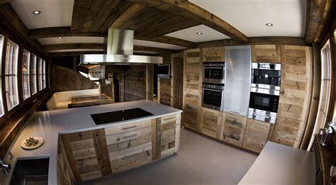 cuisine de luxe en chalet suisse top luxury ski chalet
