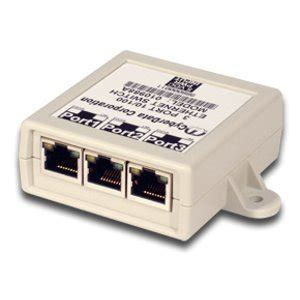cyberdata 3 port ethernet switch voip hardware