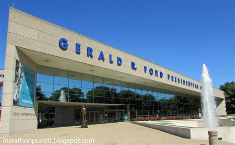 Gerald R Ford Museum by A Visit To The Gerald R Ford Presidential Museum And A