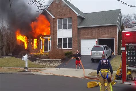 fireground operations house fire initial attack