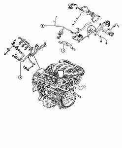 2012 Dodge Grand Caravan Crew 3 6l V6 Wiring  Injector  After 07  19  10  After 7  19  10  Up To 07