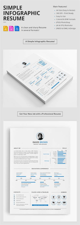 14998 minimal graphic design resume 15 creative infographic resume templates