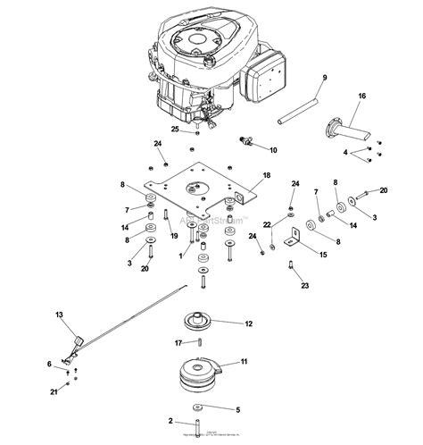 16 Hp Brigg Part Diagram by Dixon Speedztr 36 968999609 2007 Parts Diagram For