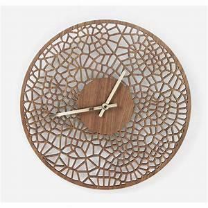 Laser, Cut, Voronoi, Cell, 39cm, Diameter, Wall, Clock