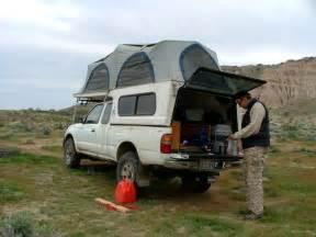 Toyota Tacoma Truck Tent Camper Shells
