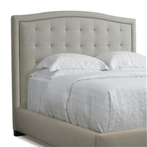 upholstered bed head shape border buttons bedroom