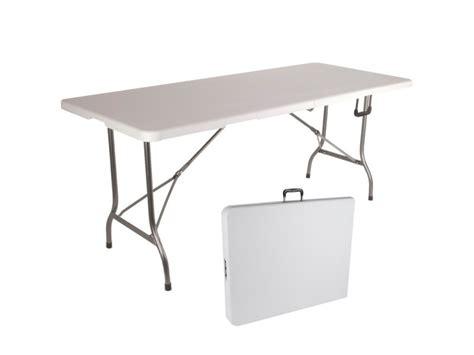 table pliante dappoint portable pour camping ou reception