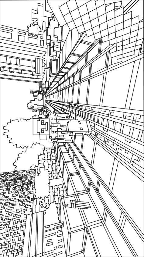 Kleurplaat Minecr by N De 19 Ausmalbilder Minecraft