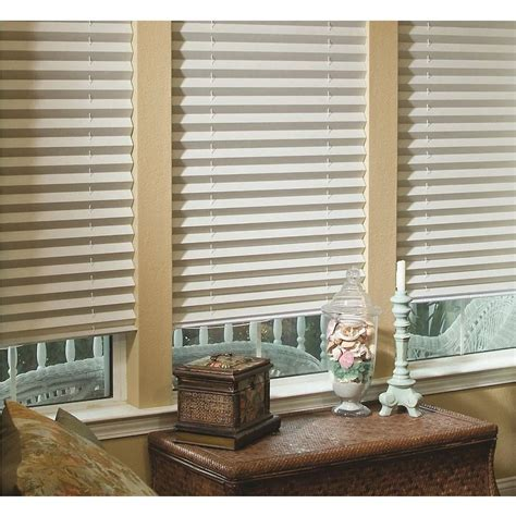 Pleated Shades by Redi Shade Fabric Corded Light Blocking Pleated