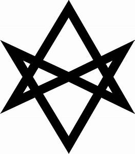 Thelema sigil vinyl decal bumper sticker religion Occult