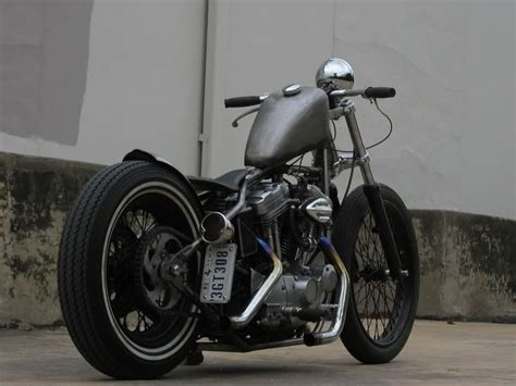 Flyrite Choppers › Weld On Hard Tail The Sportster And