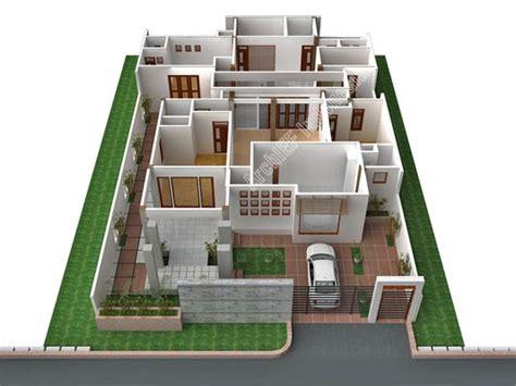 desain rumah minimalis  lantai  kamar tanah