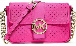 Michael Michael Kors Fulton Perforated Leather Small