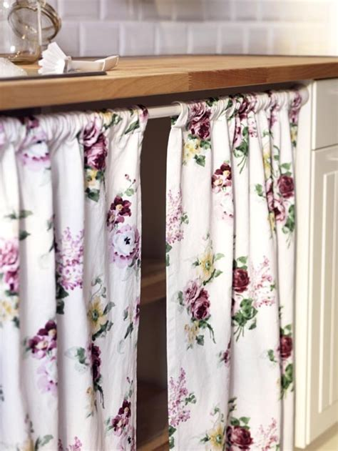 cortina bajo mesada   Cocinas que inspiran   Pinterest   Ikea