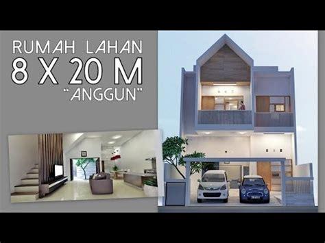 desain rumah anggun lahan xm youtube