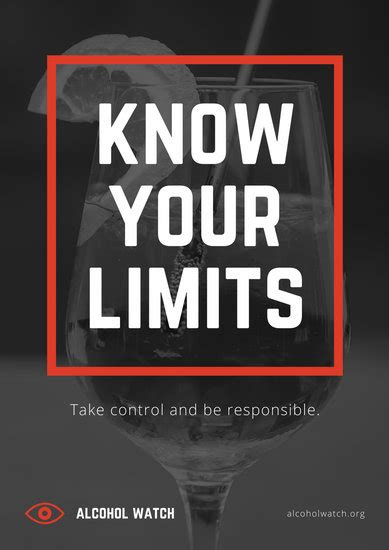 customize  alcohol awareness poster templates