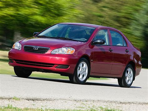 Get information and pricing about the 2005 toyota corolla, read reviews and articles, and find inventory near you. TOYOTA Corolla (US) specs & photos - 2002, 2003, 2004 ...