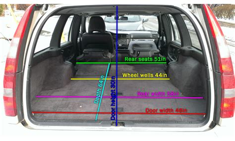 p wagon hatch dimensions