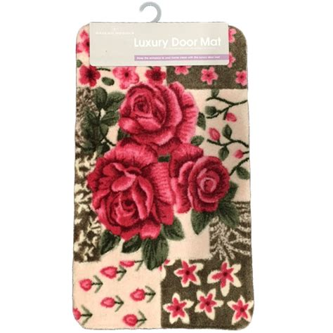 1Pc Door Mat Bloom