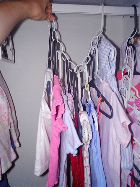 Hangers In Closet by Space Saving Closet Hangers