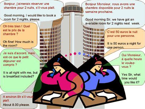 traduction chambre espagnol dialogue réserver une chambre d 39 hôtel