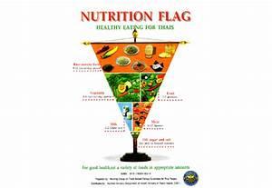 Thai Food Guide Model Called  U0026quot Nutrition Flag U0026quot