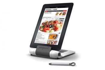 support pour tablette spécial cuisine prépara lutrin