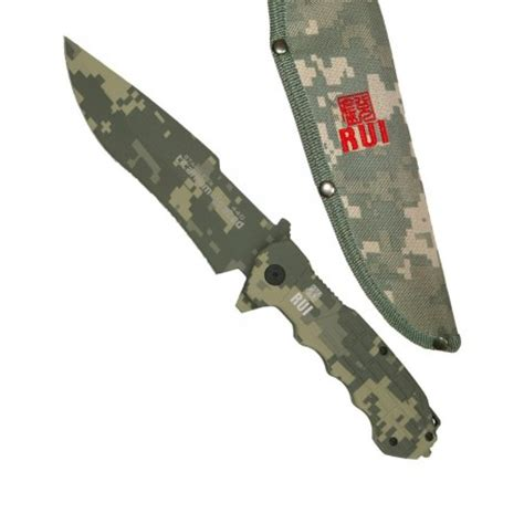 comprar cuchillo militar tactico rui venta machete predator de camuflaje 31823