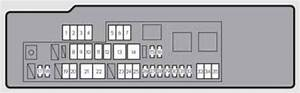 Lexus Gs350  2012  - Fuse Box Diagram