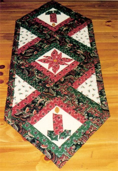 Christmas Table Runner Quilt Pattern Free