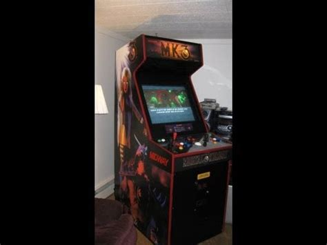 how to build an arcade cabinet from scratch how to build a mame arcade mortal kombat 3 cabinet