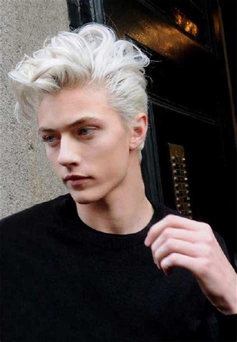 pics  guys  blonde hair mens hairstyles