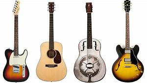 Types Of Guitar  Everything You Need To Know