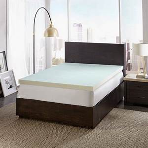 dreamfinity 3quot cooling memory foam mattress topper king With cooling mattress pad for memory foam