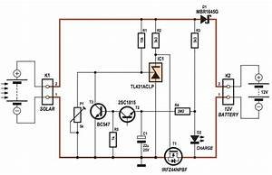 4 Amps Photovoltaic Solar Charge Controller Circuit