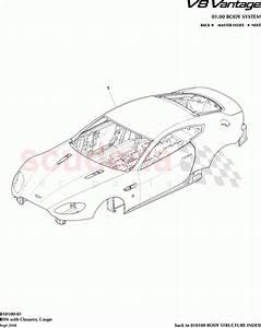 Aston Martin V8 Vantage Biw With Closures  Coupe  Parts