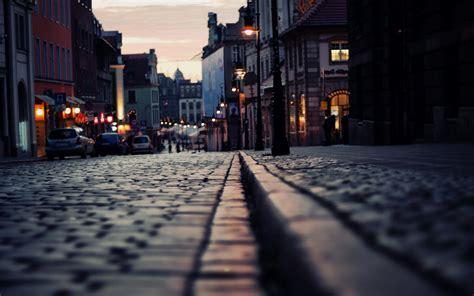 street city night phone wallpapers