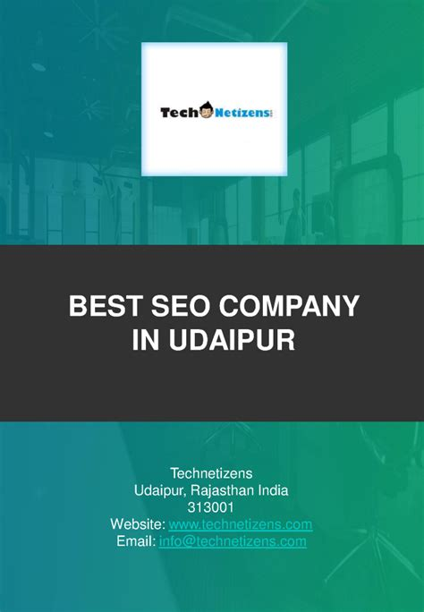Best Seo Company by Best Seo Company In Udaipur Technetizens Authorstream