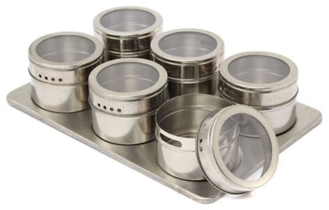Spice Sets With Racks by Magnetic Spice Rack 6 Set View In Your Room