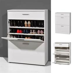 Wall Shoe Cabinet by Big Foot Wall Mounted Shoe Storage Cabinet In Wooden White