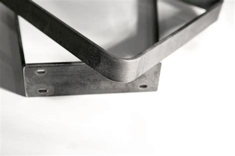flat bar bench legs modern legs