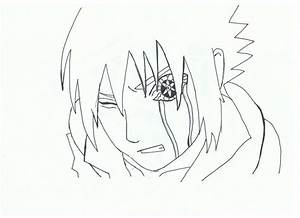 How to draw sasuke sharingan amaterasu