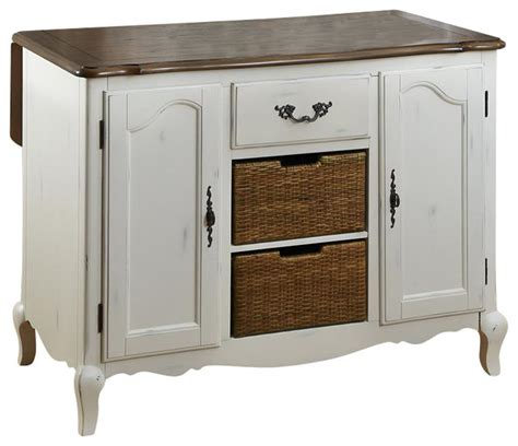 contemporary kitchen carts and islands oak and rubbed white kitchen island contemporary 8312