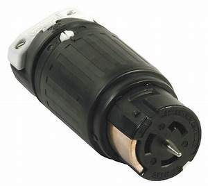 Hubbell Wiring Device-kellems Twist-lock Connector - 4d205