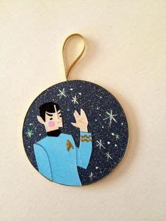 1000 images about ornaments trek on trek spock and uss enterprise