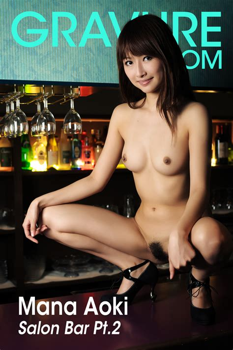FileJoker Exclusive Gravure Com Mana Aoki Salon Bar