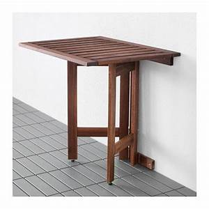 Table Exterieur Pliante : pplar table murale pliante ext rieur ikea balcony pinterest table murale ikea et murale ~ Teatrodelosmanantiales.com Idées de Décoration