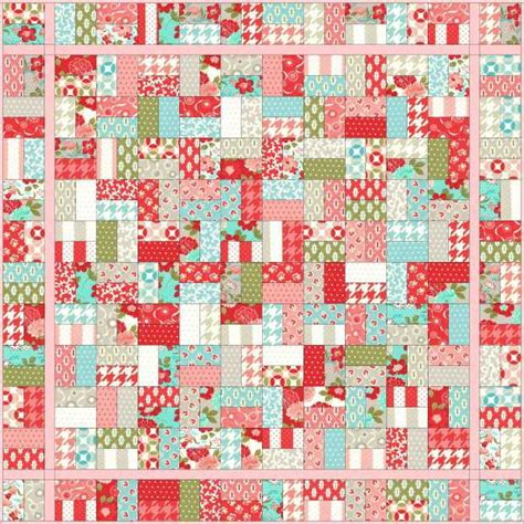 sugar sweet jelly roll quilt favequiltscom